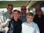 2/25/12 @ Sun City AZ at the home of Veryl and Jayne Arness, Steve Puck, Jayne Eidam Arness, Suzy Doss Bicknese, Mike Wi