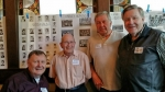 Curtis Judd, Wayne Fehlandt, Howard Kucher, Jim Hagquist